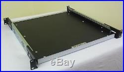 1 HE 19 Tastatur Ablage ausziehbar, Rack Ablage Boden Auszug Wanne FLYHT PRO