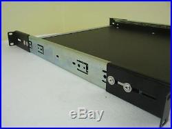 1 HE 19 ausziehbare Tastatur Ablage Rackabalage Rack Cradle Rack Auszug Boden