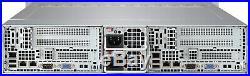 12 Bay Supermicro 2 Node Server 6027TR-DTRF 4x Xeon E5-2620 V2 Hex Core 16x 8GB