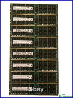 128GB (8x16GB)PC4-17000P-R DDR4 2133P ECC RDIMM Memory Dell PowerEdge R430 C4130