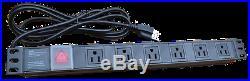 12U Rack 35 Inch Deep Server Cabinet Data Network Enclosure