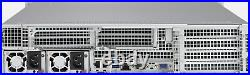 12x Drive Bay 2U Supermicro Server 2x E5-2650 V3 64GB RAM ZFS 6x PCI-E XCH CHIA
