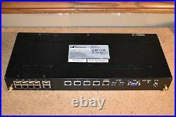 14-Port Gigabit 1U PFsense Firewall Intel Quad Core Atom C2558 AES-NI 4GB DDR3