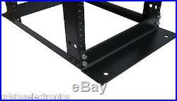 15U 4-Post Open Frame Server Rack IT Network Relay IT Racks 17 Deep 600MM