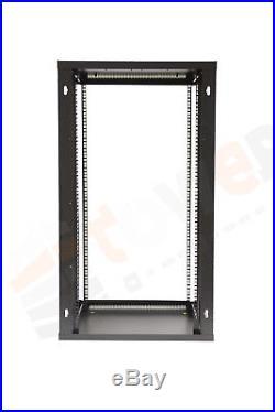 18U SERVER RACK DATA NETWORK CABINET 19 INCH 600 (W) x450 (D) x1000 (H) Flatpack