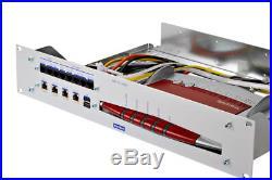19 Zoll Montagerahmen für AVM FritzBox z. B. 7490, 7390, 7360, 7330 oder baugl