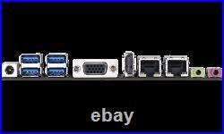 1HE /1U 19 Short Rack Server Barebone, Intel Cel. QuadCore, 4GB RAM, Fanless