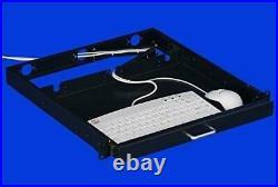 1U Rack Mount Sliding Keyboard Drawer 19 Keyboard Tray