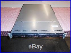 1U SUPERMICRO AS-1022G-URF(SC815TQ-R700UB) withH8DGU-F 2 X AMD 6134 -(No RAM)