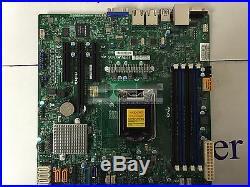 1U Supermicro E3-1230v6 3.4GHz / X11SSL-F / 8GB RAM / Dual LAN