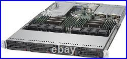 1U Supermicro Pro Server X10DRU-i+ 2x E5-2650 V3 32GB DDR4 RAM KIT 4x 10GB 1x PS