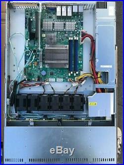 1U Supermicro Server 6x 10GBE RJ45 X10SLH-LN6TF LGA 1150 H3 no CPU no RAM CTO