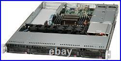 1U Supermicro Server X9SRW-F Xeon E5-2630 Six Core 32GB RAM 3x PCI-E NVME 2xPS