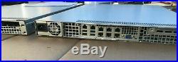 1U VPN PfSense Firewall Router Server 6x 10GBE X10SLH-LN6TF E3-1270 V3 X540-T2