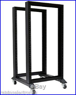 20U 3FT 4 Post Open Frame 19 Server/Audio Rack 17 Deep 600MM