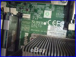2U Supermicro X8DTU 2.5 24 Bay Server SAS216A Intel QC 2.4GHz 32GB 8x 4GB
