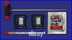 2x Intel Xeon X5675 3,06 GHz no ohne IHS lidless Matched Pair f Mac Pro 4,1 2009