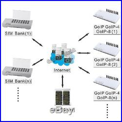 32 port Sim Bank remote manage GOIP-4, GOIP-8, GOIP-16, GOIP-32 GSM voip gateway
