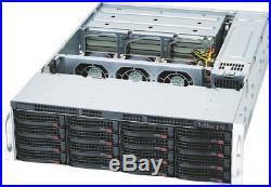 3U Supermicro 28 Hard Drive Bay SAS2 6Gbp JBOD Storage Expander CSE-837E16-RJBOD