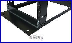 42U 4 Post Open Frame Server Rack 19 Adjustable Depth 23-32 Aluminum