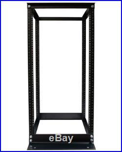 42U Open Frame Enclosures Data Server Network Rack 600MM Deep 4 Post 23 DEEP