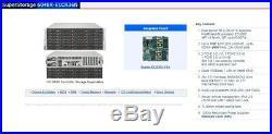 4U 36 Bay SAS3 FREENAS Server 2x Xeon E5-2640 V3 4x 10GB-E 128GB RAM X10DRi-T4+