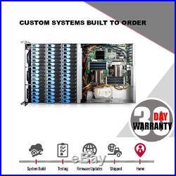 4U 48 Bay Supermicro 6Gbs Raid Storage Server 2x Xeon Low Power 6 Core 2.26Ghz