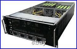 4U Cirrascale GX Series Server AI 8x NVIDIA Tesla Multi-GPU 2x Xeon E5-2680 v3