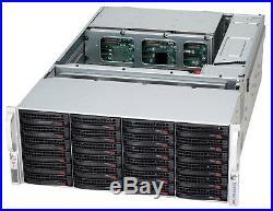 4U Supermicro 45 Bay SAS2 JBOD Storage SC847E16-RJBOD Expander W Rail Kit