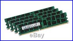4x 8GB 32GB RDIMM ECC REG DDR3 1333 MHz Speicher f HP Workstation Z420 Z620 Z820