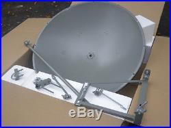 5GHz 34dBi 1.2m Dish Parabolic Antenna 4.9 to 5.9 GHz Single Pol HD Tilt Mount