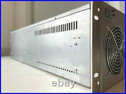 6 8 GPU Mining Rig Miner Gehäuse Case 19 4HE 4U inkl. 6 x Lüfter Ethereum NEU