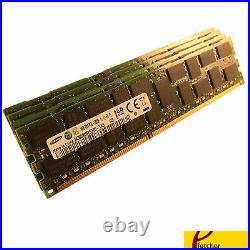 64GB (4 x 16GB) PC3-12800R DDR3 1600 ECC Reg Server Memory RAM RDIMM Upgrade
