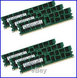 6x 16GB 96GB 1333 Mhz Apple Mac Pro 5,1 ECC RAM Speicher DDR3 MacPro Dual Rank