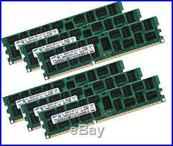 6x 4GB 24GB RAM RDIMM ECC REG DDR3 1333MHz HP Workstation Z600 C2 Z620 Z800 Z820