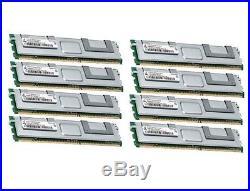 8x 8GB 64GB RAM 2Rx4 FB DIMM Speicher 667 Mhz ECC Fully Buffered DDR2 PC2-5300F