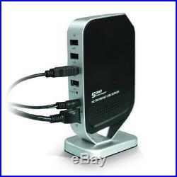 A28 Netzwerk LAN USB Server für USB Geräte mit 4x USB 2.0 Hub Drucker Scanner