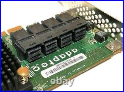 Adaptec ASR 71605 1GB 16Port HBA RAID PCIe Controller Card with Battery 4x Cables