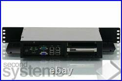 Advantech SYS-2USM02 2U Mini ITX Server DC Atom D510/2GB RAM/8GB SSD