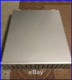 Apple A1009 XSERVE RAID Array 512MB RAM Dual Power Supply w Batteries No HDD
