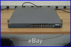 Aruba Networks S3500 24-Port PoE S3500-24P Gigabit Switch S3500-4x10G 10GB