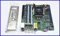 Asrock Server Mainboard D1520D4I mini ITX 4C/8T Intel Xeon D 1520 bis 128GB Ram