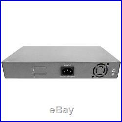 BV-Tech PoE Switch 16 Port + 2 Gigabit Ethernet Uplink 130W802.3 at 10/100Mbps