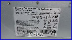 Brocade ICX6610-48P-PE POE Switch ACTIVE PREMIUM LICENSE 2x PSU REV A 2x Fan C3