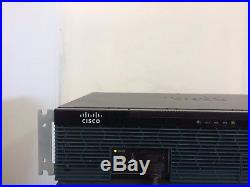 CISCO 2911-VSEC/K9 Gigabit VOICE SECURITY ROUTER PVDM3-32 VIC2-4FXO ios-15.7 CME