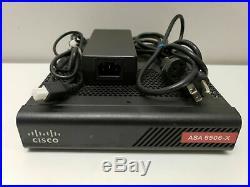 CISCO ASA5506-X Firewall Unlimited Host FirePOWER ASA5506-K9 Not Affected Serial