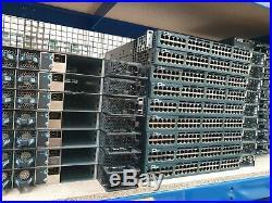 CISCO CATALYST 3560x WS-C3560X-48PF-L 48 Port Gigabit PoE L3 Switch 1100W PSU's
