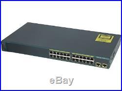 CISCO WS-C2960-24TT-L Catalyst 2960 24 10/100 + 2 1000BT LAN Base Image