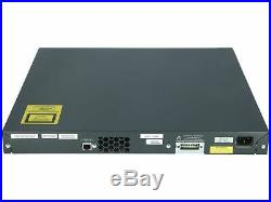 CISCO WS-C3560G-48PS-S Catalyst 3560 48 10/100/1000T PoE + 4 SFP Standard Im
