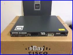 CISCO WS-C3750G-24PS-S 24-Port Gigb POE LAYER 3 Switch ios-15.0. Tar 3750G-24PS-E